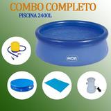 5e99973ac3 Piscina Inflavel 2400 Litros Com Filtro no Mercado Livre Brasil