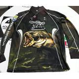 Camisa De Pesca Com Proteção Uv+50 Niesciur Sports Traíra