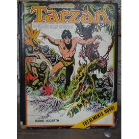O Filho De Tarzan Livro Ilustrado Por Burne Hogarth 160pg