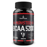 Monster Bcaa 5200 - 100 Tabletes - Powerfoods