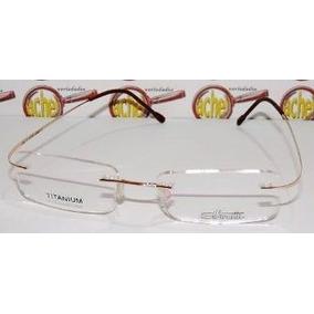 Armacao Silhouette Armacoes - Óculos no Mercado Livre Brasil 1bf110bd2e