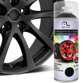 Spray Envelopamento Liquido Preto Fosco Multilaser Au420