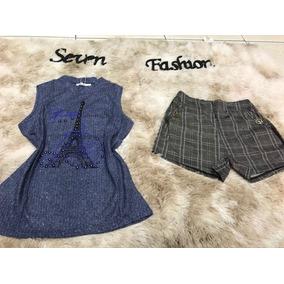 83f40b796202 T Shirt Givenchy Paris - Calçados, Roupas e Bolsas Azul no Mercado ...