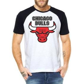 79b27de7481 Camiseta Chicago Bulls Jordan 23 Hip Hop Adidas - Camisetas Manga ...