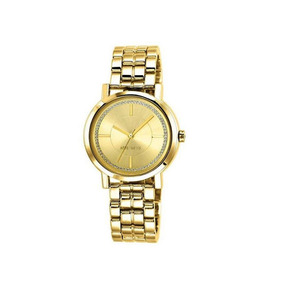 Reloj Para Dama Color Dorado Nine West