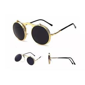 4d0dd14ea16e9 Oculos Redondo Levanta Lente - Óculos De Sol Sem lente polarizada no ...