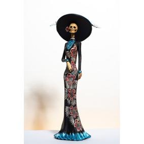 Catrina Figura En Chocolate 100 en Mercado Libre México bdd270bf08c