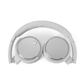 Auricular Noblex Con Micrófono Bluetooth Color Blanco Hp332w