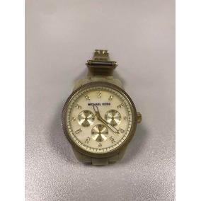 a80922647f0 Relogio Michael Kors Mk5039 Marfim - Relógios De Pulso