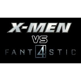 Fantastic Four Vs. X-men (vid -mexico- 1995) + 4 Figuritas