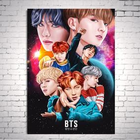 Poster Cartaz Bts Kpop Dna A3