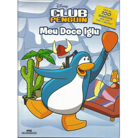 2012 Revista Mais 100 Adesivos Club Penguin Mellhoramentos