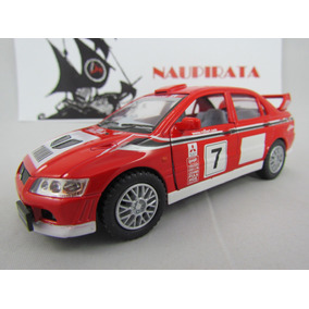 Mitsubishi Lancer Evolution Vii Wrc Kinsmart 1:36 Rally