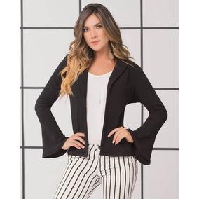 Blazer Mujer Chaquetas Modernas Ropa Para Oficina Moda 2018. Cundinamarca · Chaqueta  Blazer Negra Dama Mujer Femenino 3384 af3e25fdd305b