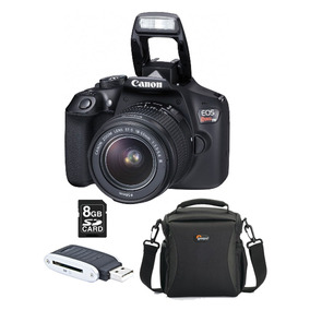 Câmera Canon Eos Rebel T6 C/ Lente + Acessórios