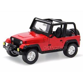 Jeep Wrangler 1992 Jada Toys 1:24 Vermelho Jad-98081-vm