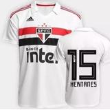 Camisa adidas São Paulo Oficial 2019 - Hernanes 15 - Origina d61a6c2d3cedb
