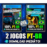 Kit Need For Speed Underground 1 E 2 - Pc - Entrega Na Hora!