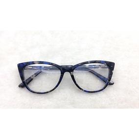82669393987d3 Oculos Geek Rajado Ana Hickmann - Óculos no Mercado Livre Brasil