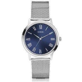 Relógio Guess Unissex Prata Esteira 92657logdna2