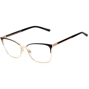 c91a8faf52ca7 Óculos De Grau – Aviador Ana Hickmann 1206 Dourado laranja - Óculos ...