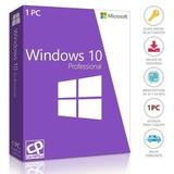 Windows 10 Pro Licencia Original 1 Pc Retail Permanente