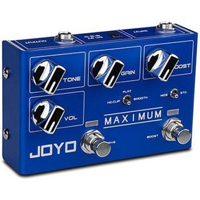 Pedal Joyo Maximum Overdrive - Mosfet Overdrive 2 Canais R05
