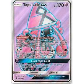 Tapu Lele Gx 137/145 - Carta Pokemon Avulsa