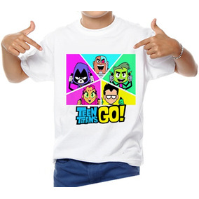 Playera Teen Titans Go Cartoon Titanes Jovenes Titanes Envio