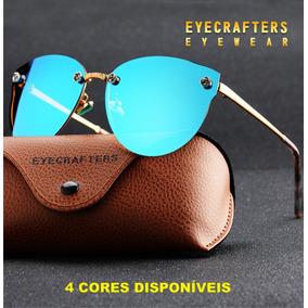 Oculos Polarizado De Sol Olho De Gato Fashion Feminino Verão 2809460b29