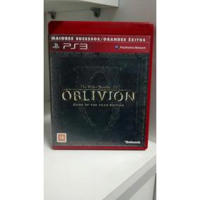 Jogo Para Ps3: The Elder Scrolls 4 Oblivion . Frete Grátis