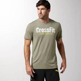 Camiseta Masculina Reebok Crossfit Unfuckwithable - Bege