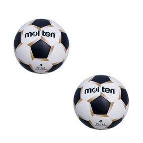 Balón Futbol Rapido Molten Pf-751 Laminado No.4 Paq 2 Pza 35f02b97b2c5a