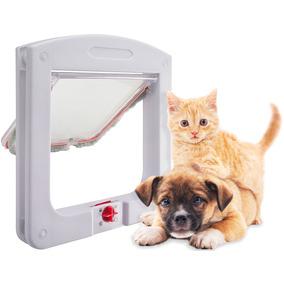 Porta Com Trava Para Gatos Cachorros Pequenos