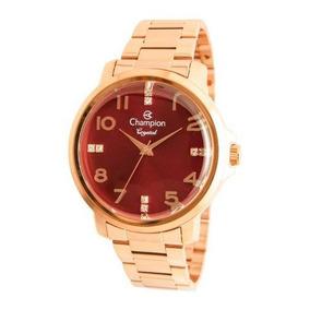 Relógio Feminino Rosé Champion Cn25565i