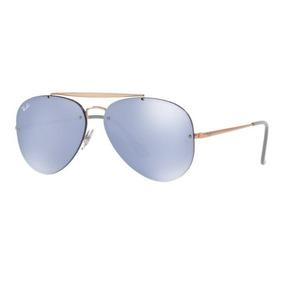 Oculos Sol Ray Ban Blaze Aviador Rb3584n 90531u Bronze Azul ae682ebc9e