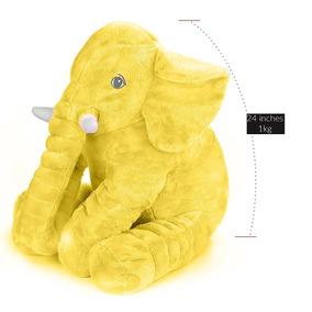 Travesseiro De Elefante Amarelo Cartoon Toys