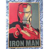 Iron Man Lamina Para Cuadro 51*35 //póster Marvel