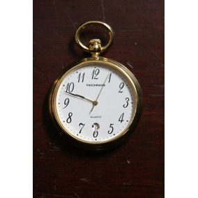 f98c223f35e Relogio Bolso Techno Quartz - Relógios De Bolso no Mercado Livre Brasil