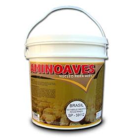 Aminoaves 20 Kg - Agrocave - Nucleo Para Misturar Na Ração