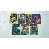 7 Tarjetas Pepsi Cards Marvel Año 1994