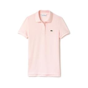 Polo Lacoste Classic Fit Rosa Flamingo