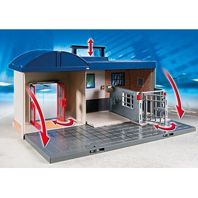 Playmobil Cuartel De Policia Jefatura Maletin 5299 Titanweb