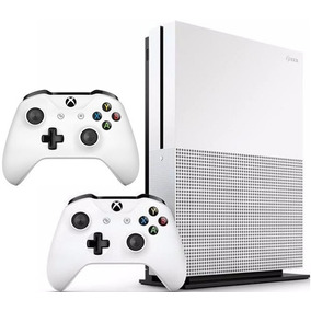 Xbox One S 1tb 1 Ano De Garantia, 2 Controle N F 12x S/ Juro
