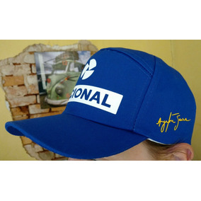 100e55455208c Boné Ayrton Senna - Bonés Outras Marcas para Masculino no Mercado ...