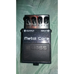 Pedal Boss Metal Core Ml2 Distorção Pesada!!