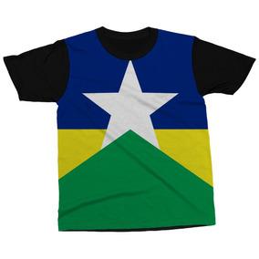 Camiseta Rondônia Estado Brasil Bandeira Símbolo Camisa c0314375730b2