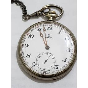 ec9fe39e90f Relógio De Bolso 84   Omega Ferradura 15 Jewels Swiss Made ...