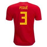 Camisa Da Espanha Copa 2018 Adidas - Camisas de Futebol no Mercado ... 7983ed078fe05