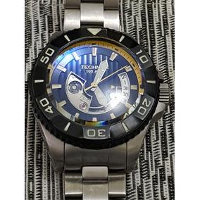 7a3eb8d94d2 Relógio Technos Acqua 100 Atm 8215ah 5y Titanium Automático ...